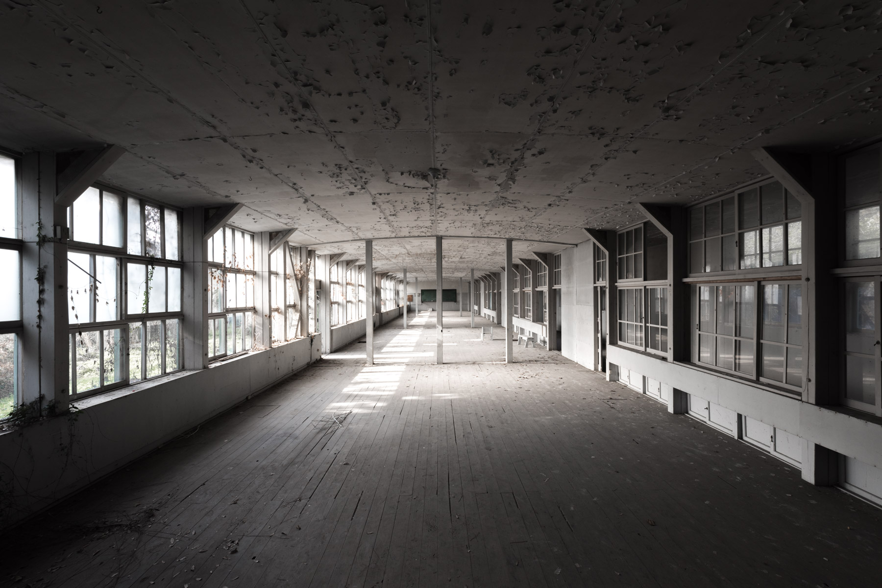 abandoned, asia, chugoku, haikyo, japan, japanese, okayama, ruin, school, urban exploration, urbex
