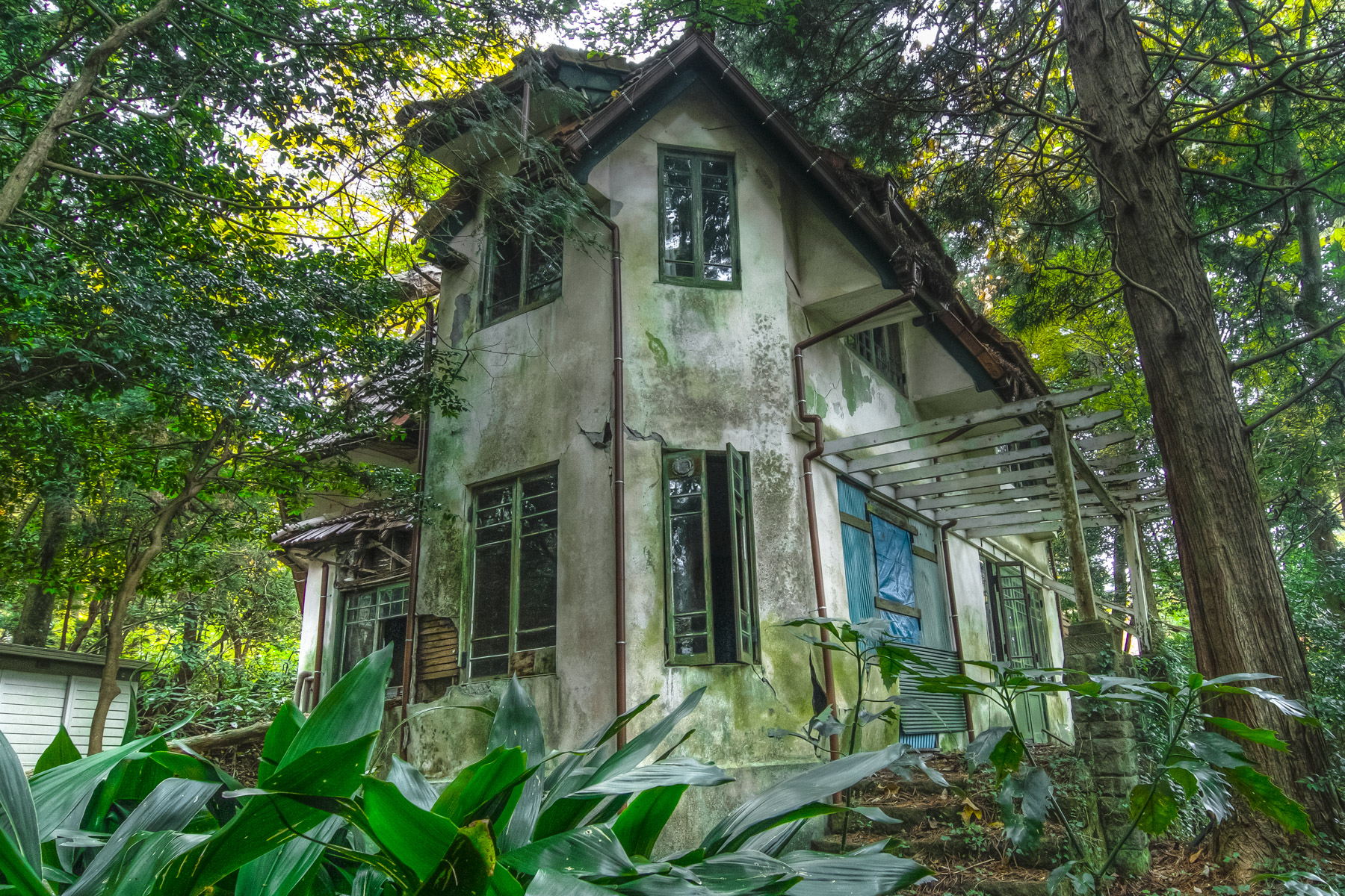 abandoned, haikyo, house, ruin, urban exploration, urbex